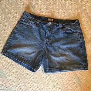 Levi's denim shorts * 515 short *